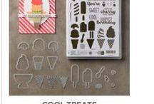 Stampin' Up! Cool Treats stamp set and Bundle / Stampin'Up! Cool Treats stamp set and bundle fromthe Cool Treats Suite in the Occasions Catalog. You can order this in my online store at: http://www.stampinup.com/ECWeb/default.aspx?dbwsdemoid=2170559