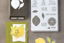 Stampin' Up! Lemon Zest / Stampin' Up! Lemon Zest stamp set and bundle from the new 2017-2018 Annual Catalog. You can order this in my online store at: http://www.stampinup.com/ECWeb/default.aspx?dbwsdemoid=2170559
