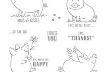 Stampin' Up! This Little Piggy / Stampin' Up! This Little Piggy stamp set from our new 2017-2018 Annual Catalog. You can order this stamp set in my online store at: http://www.stampinup.com/ECWeb/default.aspx?dbwsdemoid=2170559