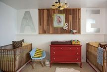 Baby Room Ideas / Beautiful designed spaces for a little one coming home. These newborn nurseries are minimal but breath taking. I have tried to gather images focused on small and large spaces. I have also tried showcasing some affordable options. Great baby rooms / by Kath Blogger @ House of Paint