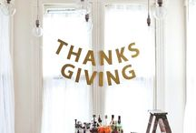Thanksgiving Table / Thankful tables with creative meaningful napkin settings and table decor. Lots of kid ideas and adorable place cards, all of these are pretty easy for a family feast. Happy turkey day!  / by Kath Blogger @ House of Paint