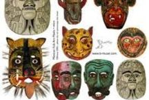 Masks ~ Máscaras / by Irene Niehorster