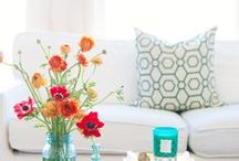 House Dreams / Cool, colorful, inviting, inspiring... / by Brooklyn Ervin