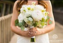 Florals / Wedding bouquet and boutonniere inspiration! http:www.georgestreetphoto.com/blog / by George Street Photo & Video