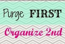 Organization / by Clarice Hurst