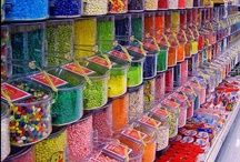 """Candy, Gummies and Sweets ~ Caramelos, Gomitas y Dulces / """"Candy is natures way of making up for Mondays."""" ~Unknown Author""""  / by Irene Niehorster"""