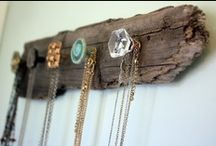 Bauble Holders / jewelry display inspiration.  / by Reeve Coobs