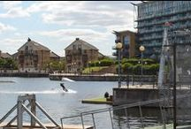 Royal Victoria Dock & Docklands Area / Royal Victoria Dock is the largest Dock in East London and, as well as being home to the 2012 Olympics, it also boasts a thriving community with activities such as WakeBoarding