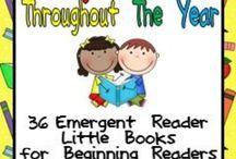 Leveled Readers for Kindergarten or Emergent Readers.