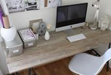 Domowe biuro / home office / by Domiporta.pl