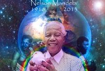 Nelson Rolihlahla Mandela /  a tribute to Nelson Rolihlahla Mandela, anti-apartheid struggle icon,President of South Africa from 1994 to 1999.