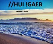 "Cape heritage / Cape Town, South Africa's historically iconic city,  named ""//Hui !Gaeb,"" by the original Khoisan inhabitants, a Khoisan word meaning ""where clouds gather"""