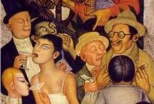 Art: Mexican Artists / Orozco, Siqueiros, Rivera / by Irene Niehorster