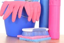 Household Helps and Cleaning / Household hints, tips, and tricks for a clean home. Cleaning tips and home hacks.  / by Jenn @ Sweet T Makes Three