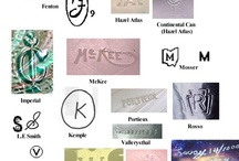 Marks / Identifying marks for china, glass and other collectables. / by Emily Miller-Capps