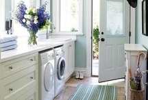 Laundry Rooms / If you love making a room pretty as much as we do, you'll love these inspirations for making your home fit your own personalized style!