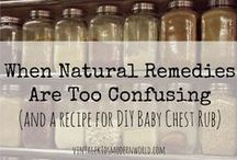 Home Remedies / Taking care of your family is easy by following these DIY home remedies that are cheap, easy, and natural for your home and family.
