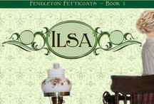 Books - Ilsa (Pendleton Petticoats 3) / Book 3 in the popular Pendleton Petticoats series, set in Pendleton, OR, in the early 1900s. Ilsa Thorsen is an talented prim and proper seamstress who doesn't know how to handle the handsome, charming and completely frustrating Tony Campanelli.
