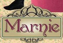 Books - Marnie (Pendleton Petticoats Book 4) / Marnie Jones has giving up on her hopes and dreams - until U.S. Marshal Lars Thorsen rides into town. Marnie - a sweet western romance by Shanna Hatfield.