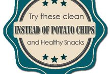 {Clean Eating} Snacks / Living a clean, healthy lifestyle.