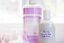 Natural homemade skincare
