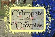 Books - Crumpets and Cowpies (Baker City Brides 1) / Sassy women, handsome cowboys, and a town known  as the Denver of the Blue Mountains during its days of gold in the 1890s. Take a journey back in time with these sweet and clean historical romances.