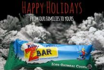 Fun and Healthy Holiday Treats / Fun ways to keep holiday treats healthy.  / by CLIF Kid