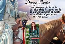 Books - Dacey: Bride of North Carolina / Dacey: Bride of North Carolina is #12 in the unprecedented 50-book American Mail-Order Brides series.  A conniving mother, a reluctant groom and a desperate bride make for a lively adventure full of sweet romance.
