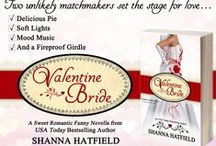Books - Valentine Bride / Take a meddling, slightly kooky grandma, a sweet but nosy aunt, add a girl with a tender heart and a hunky cowboy. Stir in some crazy adventures and you've got a recipe for laughs and love.