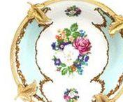 Porceilans, Crystalware & Glassware / www.ARTANTIK.ro | vintage & antique porcelains | crystalware | glassware