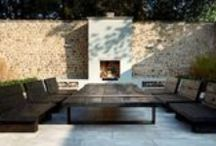 Fir pits, Fireplaces, outdoor kitchens / Fir pits, fire bowls, outdoor kitchens, grills  / by Nick McCullough, APLD