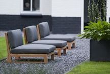 Outdoor Furniture / Tables, chairs, benched, loungers, swings, hammocks  / by Nick McCullough, APLD