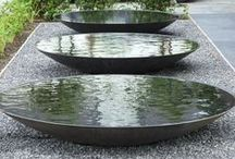 H2O Features / Water features that inspire...Garden ponds, rills, wall fountains koi ponds, blubbers, spill ways