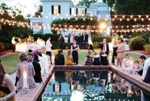 Parties Outside / Weddings, dinner parties outside....
