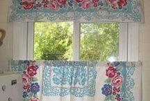 Vintage Curtains Make Me Smile! / by Deborah Rowden