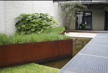 CORTEN / Coten steel in use in architecture and landscape with all its rusty beauty