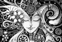 Art / Zentangles, Doodles & Tattoos