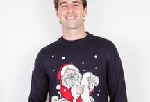 Mens Christmas Jumpers / We've a super selection of Christmas jumpers for men - get stuck in...