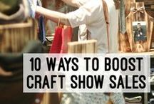 Craft Show Hustle / A collective of tips & ideas to help you creative peeps feel prepared for when you decide to take your show on the road.  / by HSCG | Handcrafted Soap & Cosmetic Guild