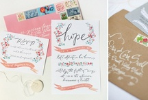 Stationery / by Bride & Groom Magazine