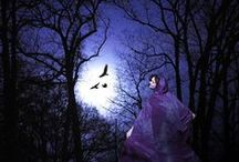 """Esbats / The moon has special significance to practitioners of modern witchcraft and paganism.  Spells and rituals are often time according to lunar cycles, and the appearance of the moon in Wiccan symbolism arguably """"eclipses"""" all others."""