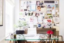 office space / office space, work space, desks, office decor, office accessories, work desks, office inspiration