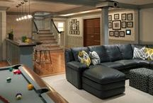 Home: Man Cave Basement / by Melissa Barker