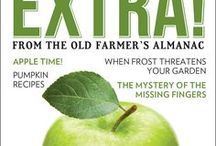 EXTRA! from The Old Farmer's Almanac / Covers and info about our brand new digital Monthly Magazine.