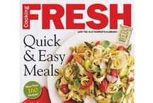 Cooking Fresh / Quick and easy out-of-the-ordinary  meal ideas! / by The Old Farmer's Almanac