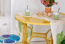 Vintage Singer Sewing Table