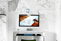 Home • office / Office space, homeoffice, working at home / by webstash •