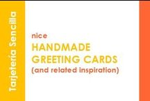 Nice Handmade Greeting Cards (and related inspiration)