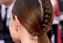 Major Hair Envy / Hair ideas + tips and tricks. From bobs, lobs, and ombré's to braids, top knots, and party updo's.