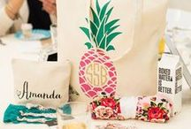 Monogram Madness / Add a Personal Touch to Your Everyday Life